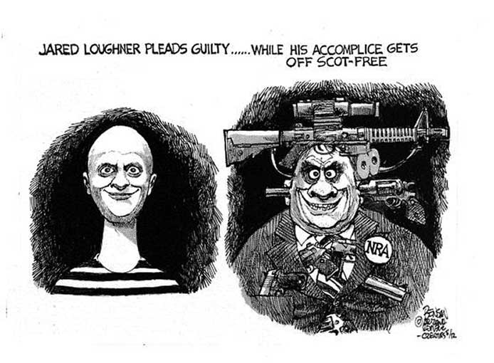NRA Supports Killers