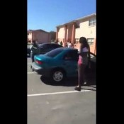 Girl Pulls Out Gun During Fight